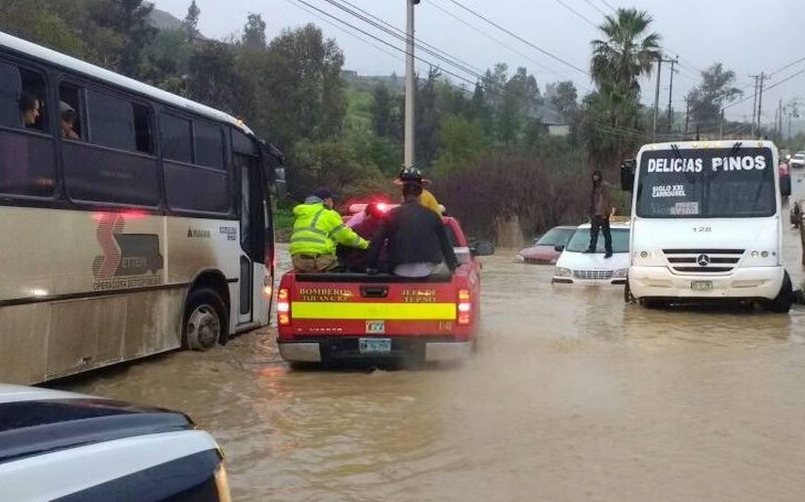 Resultado de imagen para lluvias en tijuana en enero 2019