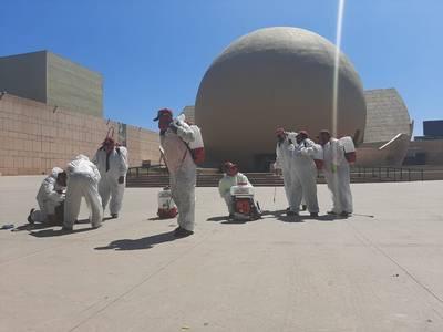 Desinfectan Zona Río tras ser considerada área de contagios de Covid-19 - El Sol de Tijuana