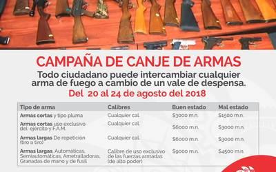 Sedena Iniciará Campaña De Canje De Armas En Tecate El Sol