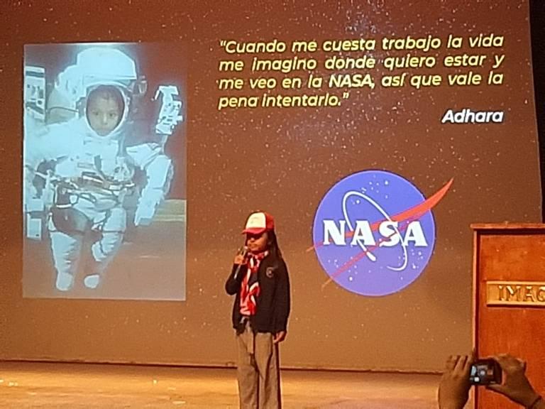Adhara Maite sueña con estar en Marte - El Sol de Tijuana | Noticias  Locales, Policiacas, sobre México, Baja California y el Mundo