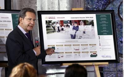 Calendario Escolar 2020 Sep Cdmx.Unifica La Sep Calendario Escolar 2019 2020 En 190 Dias El